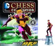 DC Chess Figurine Collection #77 Kid Flash Justice League Eaglemoss